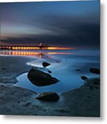 La Jolla Sunset 7 Metal Print