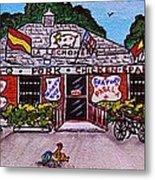 La Lechonera Restaurant Key West Florida Metal Print