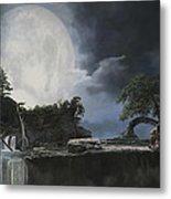 La Luna Bianca Metal Print