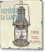 La Mer Lanterne Metal Print