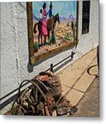 La Mesilla Outdoor Mural Metal Print