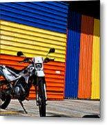 La Motocicleta Metal Print