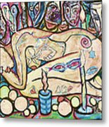 La Ofrenda A Yemanja - Version 02 Metal Print