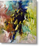 La Palette Enchantee Metal Print