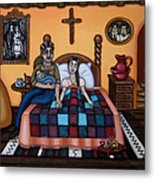 La Partera Or The Midwife Metal Print