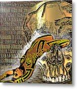 La Petite Mort Color Metal Print
