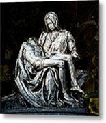 La Pieta Metal Print