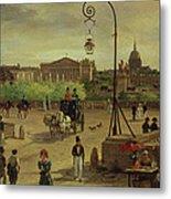 La Place De La Concorde Metal Print