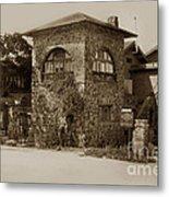 La Playa Carmel And Located At Camino Real At Eighth Ave. Circa  1925 Metal Print
