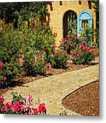 La Posada Gardens In Winslow Arizona Metal Print