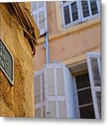 La Provence Windows Metal Print