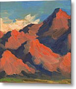 La Quinta Mountains Morning Metal Print