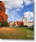 La Roche College On A Fall Day Metal Print