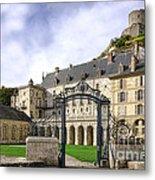 La Roche Guyon Castle Metal Print by Olivier Le Queinec