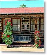 La Rosa Motel Pioneer Town Metal Print