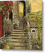 La Scala Grande Metal Print by Guido Borelli