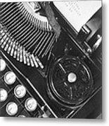 La Tecnica - The Typewriter Of Julio Metal Print