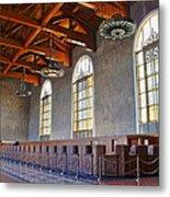 Los Angeles Union Station At Its 75th Anniversary Metal Print