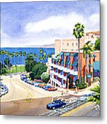 La Valencia And Prospect Park Inn Lj Metal Print
