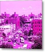 La Vie En Rose Le Bronx Metal Print