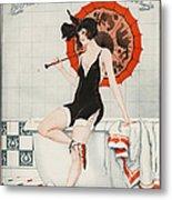 La Vie Parisienne  1923 1920s France Metal Print