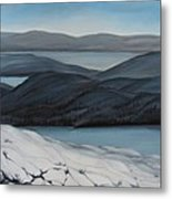Labrador The Big Land Metal Print