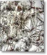 Labyrinth Of Ice Metal Print
