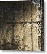 Lace Curtain 1 Metal Print