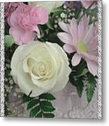 Lace Framed Mothers Day Metal Print