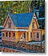 Lace House Blackhawk  Colorado Metal Print