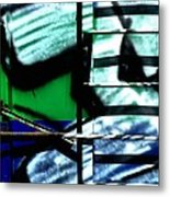 Ladder Effect Metal Print