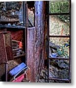 Ladder To The Upstairs Metal Print