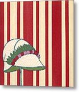 Ladies Hat, From Les Robes De Paul Metal Print