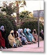 Ladies In Waiting Metal Print