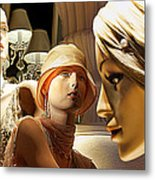 Ladies Of Rodeo Drive Metal Print