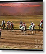 Ladies World Chapionship Ladies Cup Missing One Lady Metal Print by Blake Richards