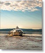 Ladoga Lake Transfer Metal Print