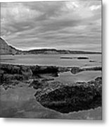 Ladram Bay And Sidmouth Metal Print