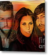 Lady Antebellum Metal Print by Marvin Blaine