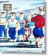 Lady Bears Professional Golf Association Metal Print