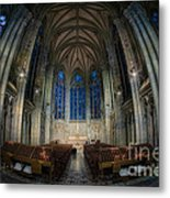 Lady Chapel At St Patrick's Catheral Metal Print