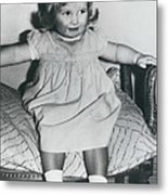 Lady Diana A Chubby Two-year Old Metal Print
