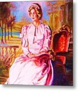 Lady Diana Our Princess Metal Print