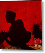 Lady From Arles In Full Regalia And Her Shadow Metal Print