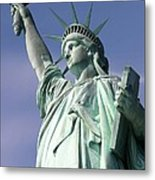 Lady Liberty 01 Metal Print