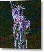Lady Liberty 20130115 Metal Print