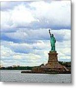 Lady Liberty B Metal Print