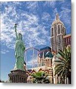 Lady Liberty In Vegas Metal Print