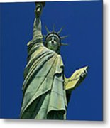 Lady Liberty Replica Metal Print