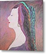 Lady Madonna No. 1 Listen To The Music Playing In Your Head Metal Print